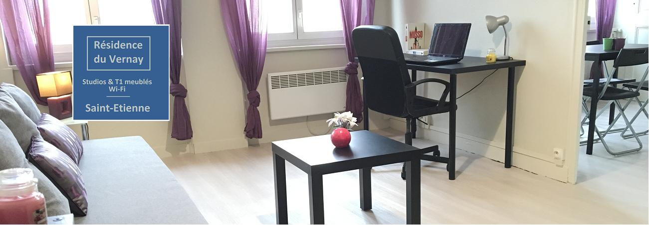 r sidence du vernay saint etienne studios et appartements. Black Bedroom Furniture Sets. Home Design Ideas